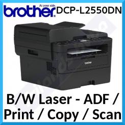 Brother DCP-L2550DN Black & White Multifunction Printer - USB 2.0, LAN