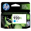HP 920XL Cyan Ink Cartridge CD972AE (700 Pages) - Original HP Pack for Officejet 6000, 6500, 7000, 7500 Series