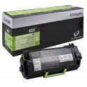 Lexmark 622 Black Original Toner Cartridge 62D2000 (6000 Pages) for Lexmark MX710de, MX710dhe, MX711de, MX711dhe, MX810dme, MX810dxfe, MX810dxme, MX810dfe, MX811dxfe, MX811dxme, MX811dme, MX811dfe
