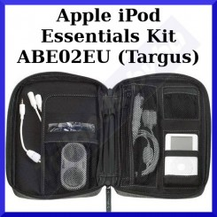 Apple iPod Essentials Kit ABE02EU (Targus) - 1 X Air / Car Mobile Charger (Lighter Plug) - 1 X Mini Speakers - 1 X iPod Pouch Carrying Case - 1 X iPod Screen Protector - Special Price