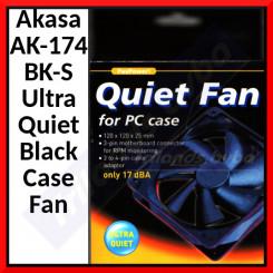 Akasa AK-174BK-S Ultra Quiet Black Case Fan.