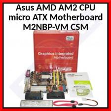 Asus AMD AM2 CPU micro ATX Motherboard M2NBP-VM CSM
