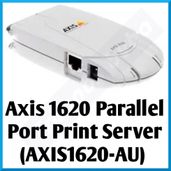 Axis 1620 Parallel Port Print Server (AXIS1620-AU) - 1 X Parallel Port - 1 X TX10 / TX100 AutoSensing - for Canon PCL Printers - Support on Windows, Linux, Mac OS & Netware - Special Offer