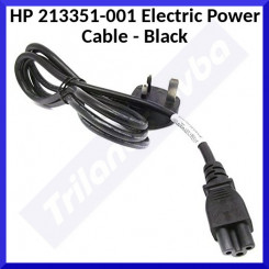 HPE 213351-001 Electric Power Cable - Black