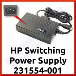 HP Switching Power Supply 231554-001 for EVO T20/ T1000/ T1500 Series Thin Clients - Refurbished - Special Offer