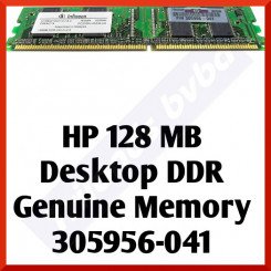 HP 128 MB Desktop DDR Genuine Memory 305956-041 - DIMM, 184 Pins, PC2700, 333Mz, CL2.5  - In Perfect Condition - Refurbished
