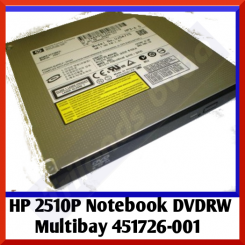 HP 2510P Notebook DVDRW Multibay 451726-001 - in Perfect Working condition - Refurbished