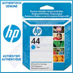 HP 44C Cyan Original Ink Cartridge 51644CE (42 ML) - Outdated Sealed Original HP Pack