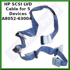 HPE SCSI LVD Cable for 5 Devices A8052-63004 - Connectors (68 Pins) with terminator (Total 7 Connector on Cable) for Proliant Servers with SCSI interface - Special Clearance Price