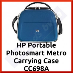 HP CC698A Photosmart Metro Carrying Case - Metro Style HP Genuine for Compact PhotoSmart Printers (10.65 x 6.38 x 10.43 in) - Special Clearance Price