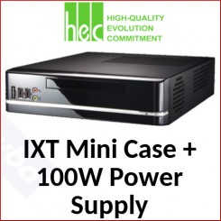HEC IXT Mini Case + 100W Power Supply 8K Series Desktop (HEC-8K01BS)