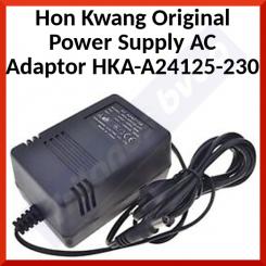 Hon Kwang Original Power Supply AC Adaptor HKA-A24125-230 - Input: 230V - 50Hz-40W - Output:24V - 1250ma - 30VA - Refurbished - Special Offer