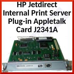 HP Jetdirect Internal Print Server Plug-in Appletalk Card J2341Ab - Refurbished