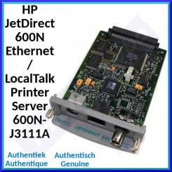 HP JetDirect 600N Ethernet / LocalTalk Printer Server 600N-J3111A - Refurbished