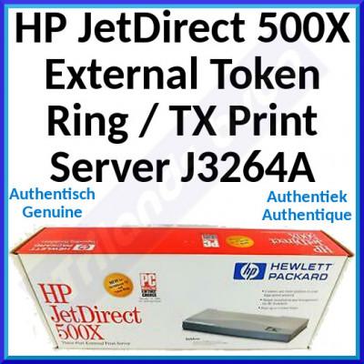HP JetDirect 500X External Token Ring / TX Print Server J3264A