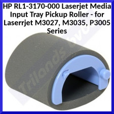 HP RL1-3170-000 Laserjet Media Input Tray Pickup Roller - Genuine HP Replacement Part for Laserrjet M3027, M3035, P3005 Series - Special Offer