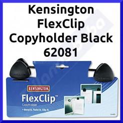 Kensington FlexClip Copyholder Black 62081