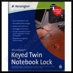 Kensington Notebook MicroSaver Keyed Twin Lock System ( 906-2593-02) for Notebook Computers