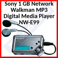 Sony 1 GB Network Walkman MP3 Digital Media Player NW-E99 - Special Offer