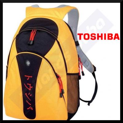 Toshiba Yellow Backpac (Ruksac) Laptop Carry Case (PX1308E-1NCA)