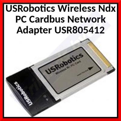USRobotics Wireless Ndx PC Cardbus Network Adapter USR805412