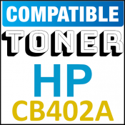 CB402A Compatible Yellow Toner Cartridge (7500 Pages) for Color LaserJet cp4005dn, cp4005n