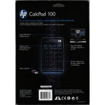 HP CalcPad 100 (NW226AA) - Wired Numeric Keypad / Calculator - with 2-Port USB Hub