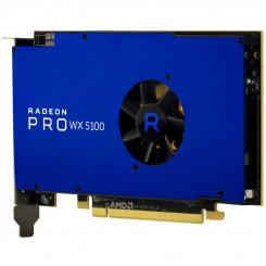 AMD Radeon Pro WX 5100 - Graphics card - Radeon Pro WX 5100 - 8 GB - PCIe 3.0 x16 - 4 x DisplayPort - for Celsius J5010, J580, M7010, M770, W5010, W570, W580