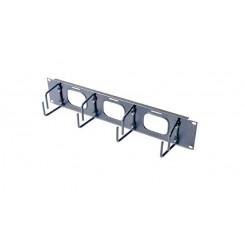 APC - Cable organizer - black - 2U - for NetShelter EP