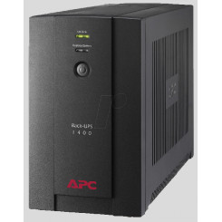 APC Back-UPS 1400VA - BX1400U-GR - UPS - AC 230 V - 700 Watt - 1400 VA - USB - output connectors: 4 - black