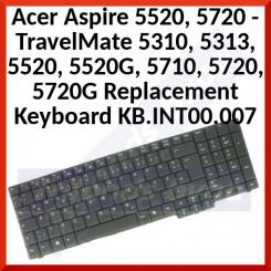 Acer Aspire/TravelMate Genuine Replacement Keyboard KB.INT00.007 (Qwertzu Swiss / German) for Aspire 5520, 5720 - TravelMate 5310, 5313, 5520, 5520G, 5710, 5720, 5720G