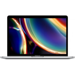 Apple 13-inch MacBook Pro with Touch Bar: 2.0GHz quad-core 10th-generation Intel Core i5 processor, 1TB - Silver