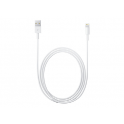 Apple - Lightning cable - Lightning (M) to USB (M) - 2 m - for Apple iPad/iPhone/iPod (Lightning)