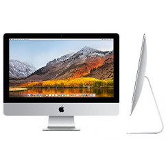 "Apple iMac - All-in-one - 1 x Core i5 2.3 GHz - RAM 8 GB - HDD 1 TB - Iris Plus Graphics 640 - GigE - WLAN: 802.11a/b/g/n/ac, Bluetooth 4.2 - OS X 10.13 Sierra - monitor: LED 21.5"" 1920 x 1080 (Full HD) - keyboard: Swiss QWERTZ"