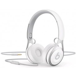 Beats EP - Headphones with mic - on-ear - wired - 3.5 mm jack - noise isolating - white - for 10.5-inch iPad Pro