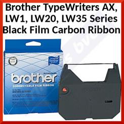 Brother Black Original Ink Film Carbon Correctable Typewriter Ribbon 1030 (50000 Strikes)