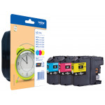 Brother LC125XLRBWBP (3-Pack CMY) High Capacity Cyan / Magenta / Yellow Original Ink Cartridges for Brother DCPJ4110dw, MFCJ4410dw, MFCJ4510dw, MFCJ4610dw, MFCJ4710dw, MFCJ6520dw, MFCJ6720dw, MFCJ6920dw