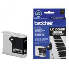 Brother LC-1000BK Black Ink Original Cartridge (500 Pages) for Brother DCP-540CN, DCP-560CN, DCP-750CW, DCP-770CW, MFC-440CN, MFC-465CN, MFC-660CN, MFC-680CN, MFC-885CN, MFC-3360C, MFC-5460CN, MFC-5860CN
