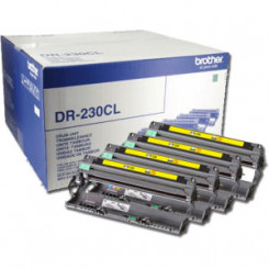 Brother DR-230CL 4-Color Imaging Genuine Drum (15000 Pages) for Brother MFC-9140CDN, MFC-9330CDW, MFC-9340CDW, DCP-9015CDW, DCP-9020CDW, HL-3040, HL-3070