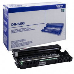 Brother DR-2300 Imaging Original Drum (12000 Pages) for Brother DCP-L2500D, DCP-L2520DW, DCP-L2540DN, DCP-L2560DW, MFC-L2700DN, MFC-L2700DW, MFC-L2720DW, MFC-L2740DW, HL L2300D, HL L2340DW, HL L2360DN, HL L2365DW