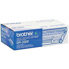 Brother DR-2000 Original Imaging Drum (12000 Pages) for Brother MFC-7420, MFC-7820, MFC-7225, HL-2030, HL-2040, HL-2050, HL-2070, DCP-7010, DCP-7025, Fax-2820, Fax-2825, Fax-2920
