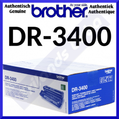 Brother DR-3400 Original Imaging Drum (50000 Pages)