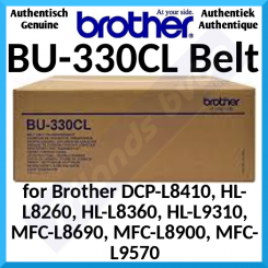 Brother BU-330CL Belt Unit (50000 Pages) for Brother DCP-L8410CDW, HL-L8260CDW, HL-L8360CDW, HL-L9310CDW, MFC-L8690CDW, MFC-L8900CDW, MFC-L9570CDW