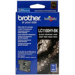 Brother LC-1100HYBK Black Original Ink Cartridge (900 Pages) for Brother DCP-6690CW, MFC-5890CN, MFC-5895CN, MFC-6490CW, MFC-6890CW