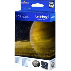 Brother LC-1100BK Black Original Ink Cartridge (450 Pages) for Brother DCP-385C, DCP-387C, DCP-395cn, DCP-585cw, DCP-J715w, DCP-6690cw, MFC-490CW, MFC-J615W, MFC-790CW, MFC-795CW, MFC-990CW, MFC-5490CN, MFC-5890CN, MFC-5895CN, MFC-6490CW, MFC-6890CW