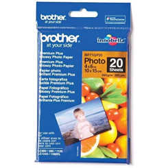 Brother BP71GP20 - Glossy - 100 x 150 mm 20 sheet(s) photo paper - for Brother DCP-J772, J774, T510, T710, MFC-J5830, J6535, J690, J775, J890, J895, T910