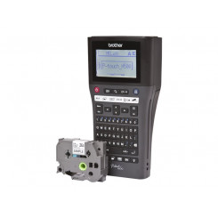 Brother P-Touch PT-H500 - Labelmaker - monochrome - thermal transfer - Roll (2.4 cm) - 180 dpi - up to 20 mm/sec - USB 2.0 - 7 line printing