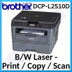 Brother DCP-L2510D Laser Multifunction Monochrome Printer