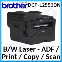 Brother DCP-L2550DN Black & White Multifunction Printer - USB 2.0, LAN