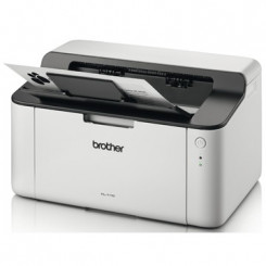 Brother HL-1110 Laser Printer - Monochrome - 20 ppm Mono - 2400 x 600 dpi Print - 150 Sheets Input